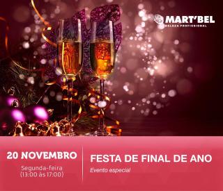 20 de novembro de 2017 - Festa de Final de Ano Grandha | Martbel