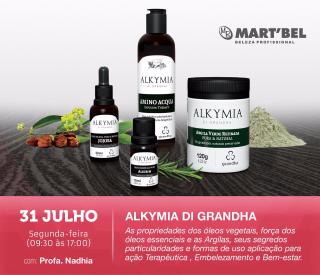 31 de julho de 2017 - Alkymia di Grandha | Martbel