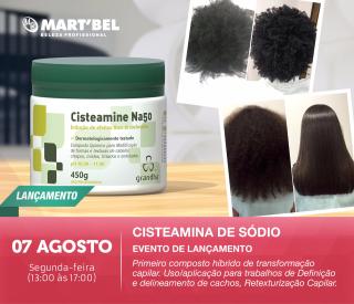 7 de agosto de 2017 - Cisteamina de Sódio Evento de Lançamento Grandha | Martbel