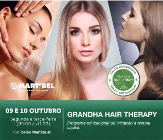9 e 10 de outubro de 2017 - Grandha Hair Therapy | Martbel.
