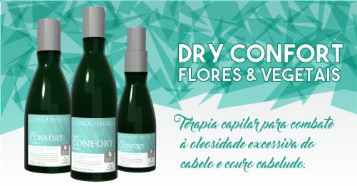 Terapia capilar para combate à oleosidade excessiva do cabelo e couro cabeludo.