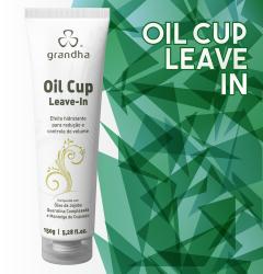 Oil Cup Leave-in é um finalizador especial para a redução de volume dos cabelos.