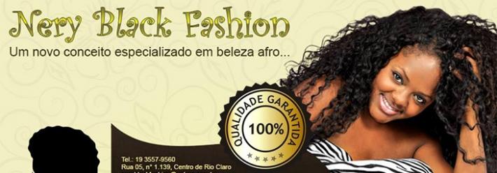 Nery Black Fashion para cabelos afro em Rio Claro, SP.