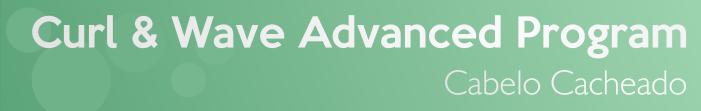 Curl & Wave Advanced Program da Grandha para Cabelo Cacheado. Tratamento que estimula cachos.