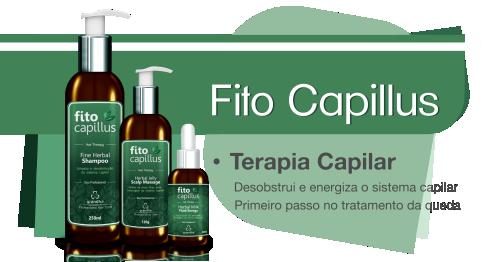 Produtos cosméticos Grandha. Fito Capillus, terapia capilar para calvície e crescimento de cabelo da Grandha.