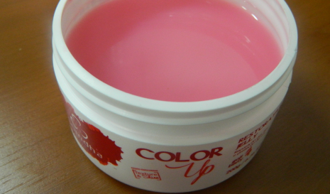 Color Up Restorative Jelly com Goji Berry para cabelos tingidos da Grandha.