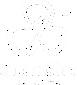 Logotipo comemorativo da Grandha, edição de 15 anos, todo branco.