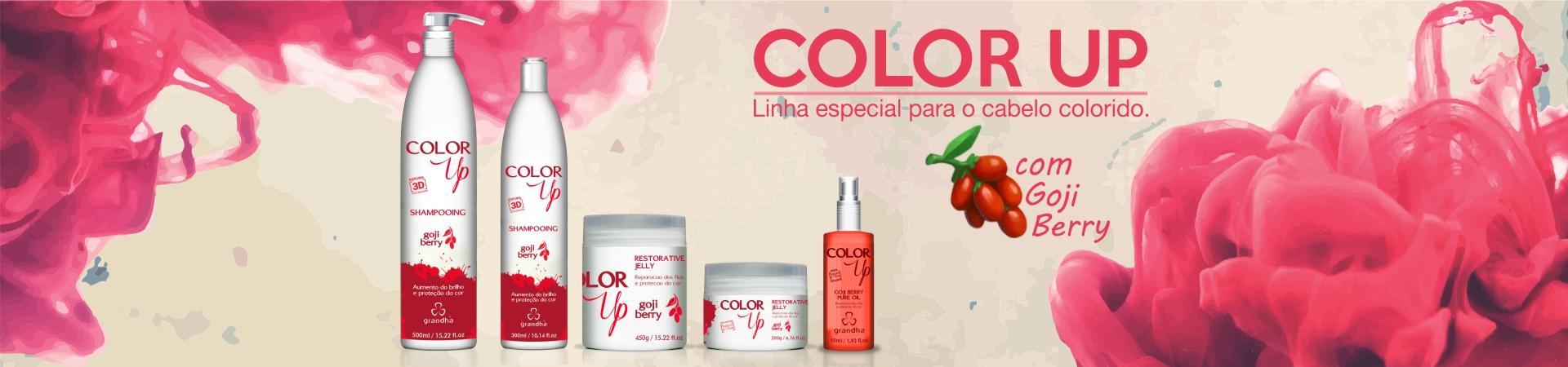 Color Up Goji Berry, lançamento da Grandha para manutenção da cor no cabelo colorido, com todos os benefícios do goji berry.
