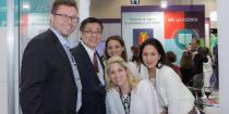 O diretor técnico da Grandha, Celso Martins Junior, recebeu menção honrosa no 29° Congresso Brasileiro de Cosmetologia por seu distinto trabalho com o ativo Tioglicolato de AMP.