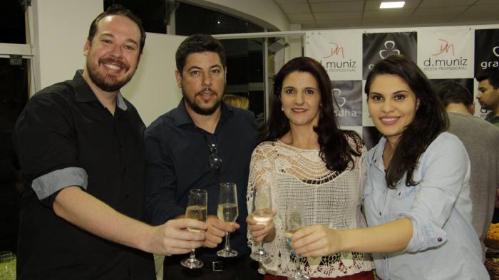Inauguração do Centro Técnico Grandha em São Carlos, SP. Com Celso Martins Junior e D'Muniz Distribuidora.