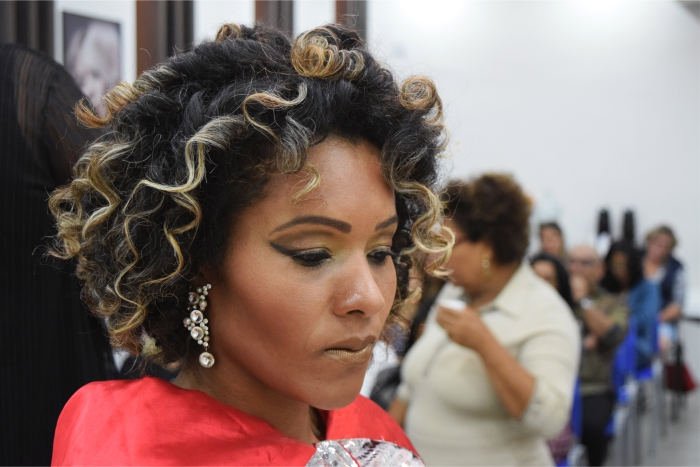 Curso de Penteados para Festas e Casamentos encerrou o ano de 2017 no Centro Técnico Mart'bel Grandha.