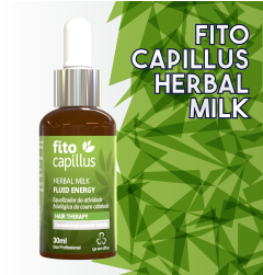 Fito Capillus da Grandha, utilizado na terapia capilar para tratamentos de calvície e alopecia.
