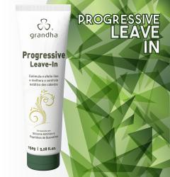 Progressive Leave-in é um finalizador específico para prover o efeito liso ao cabelo.
