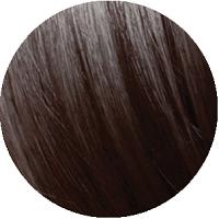 Amostra de cabelo sobre o qual o Matiz P.71 Cappuccino Brown deve ser aplicado.