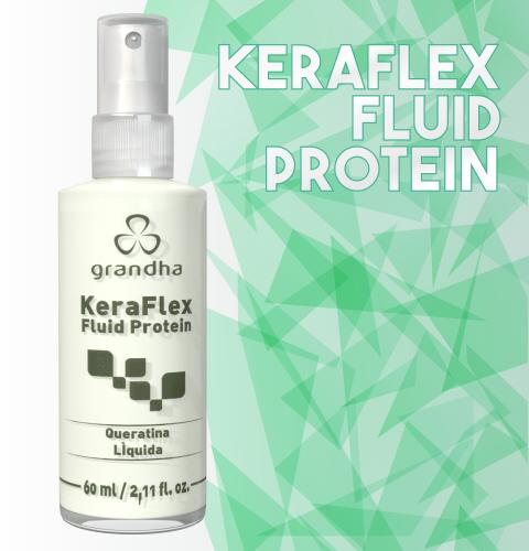 Keraflex Fluid Protein. Queratina líquida com poder reconstrutor para o seu cabelo.
