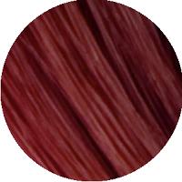 Amostra de cabelo sobre o qual o Matiz P.56 Mahogany Red deve ser aplicado.