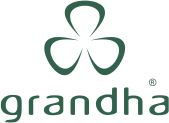 Grandha Professional Hair Care. Logotipo do site oficial da Grandha.