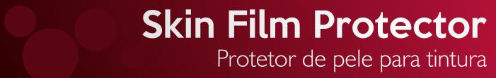 Skin Film, protetor de pele para coloração e tintura da Grandha.