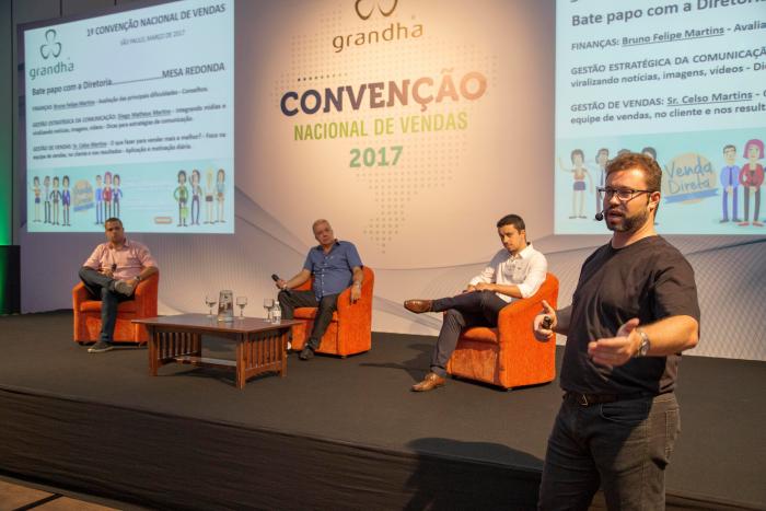 Convenção de Vendas Grandha 2017.