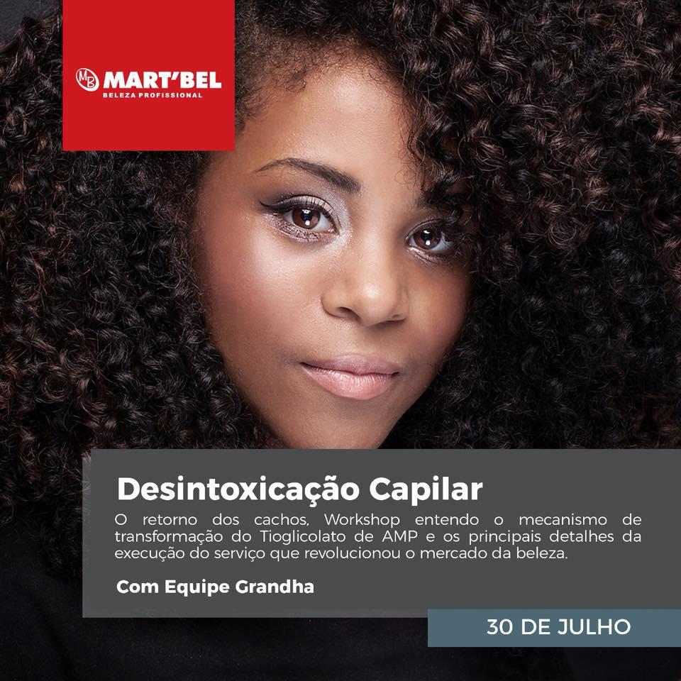 Desintoxicação Capilar - O retorno dos cachos. Workshop para entender o mecanismo de transformação do Tioglicolato de AMP e os principais detalhes da execução do serviço que revolucionou o mercado da beleza.