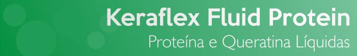 Keraflex Fluid Protein é um finalizador da Grandha com proteína e queratina líquida para cabelos quebradiços.