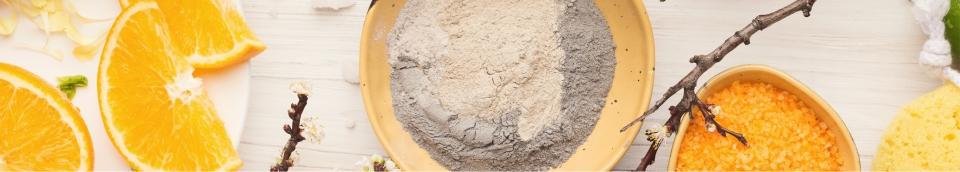 Argila refinada pura Alkymia di Grandha para terapia capilar.