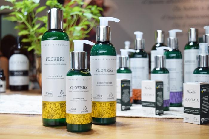 Lançamento da nova família Flores & Vegetais Grandha 2019.