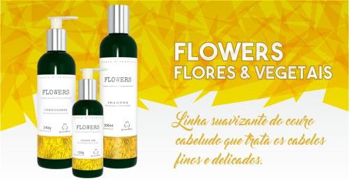 Flowers Grandha, terapia capilar Flores e Vegetais.