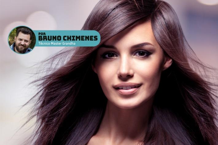 Produtos cosméticos Grandha. Nanocristalização Grandha, novo conceito de liso intenso para todos os tipos de cabelo.