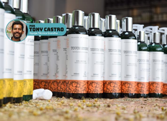 Touch Energy: terapia capilar com óleo essencial de laranja. Por Tony Castro.