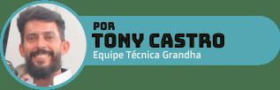 Tony Castro é educador Técnico Grandha, formado em Terapia Capilar pela Academia Brasileira de Tricologia e em Terapias BC pela Ask Education, atua há mais de 20 anos como profissional da beleza.