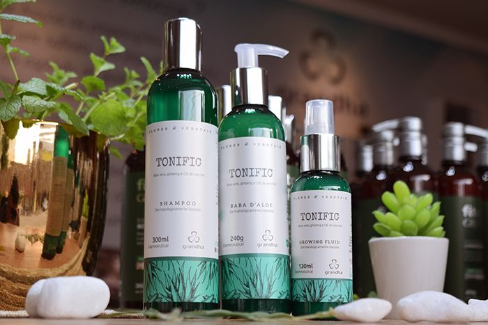 Kit Tonific Flores e Vegetais Grandha.