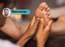 Thony Castro sobre reflexologia podal e seus detalhes.