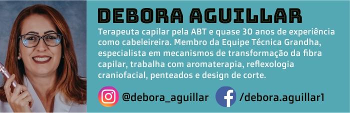 Débora Aguillar é autora do Blog Grandha.
