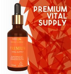 Premium Vital Supply Mix Oil Coconut & Argan Grandha.