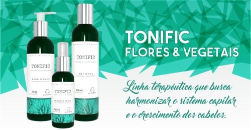 Tonific Grandha, terapia capilar Flores e Vegetais.