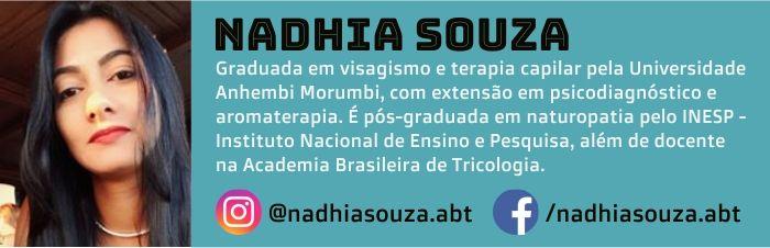Nadhia Souza é visagista e autora do Blog Grandha.