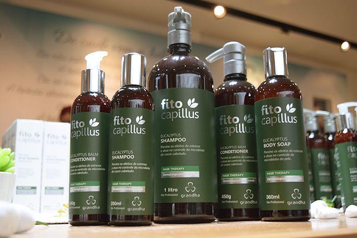 Kit Fito Capillus Eucalyptus Grandha para tratamento de psoríase e terapia capilar.