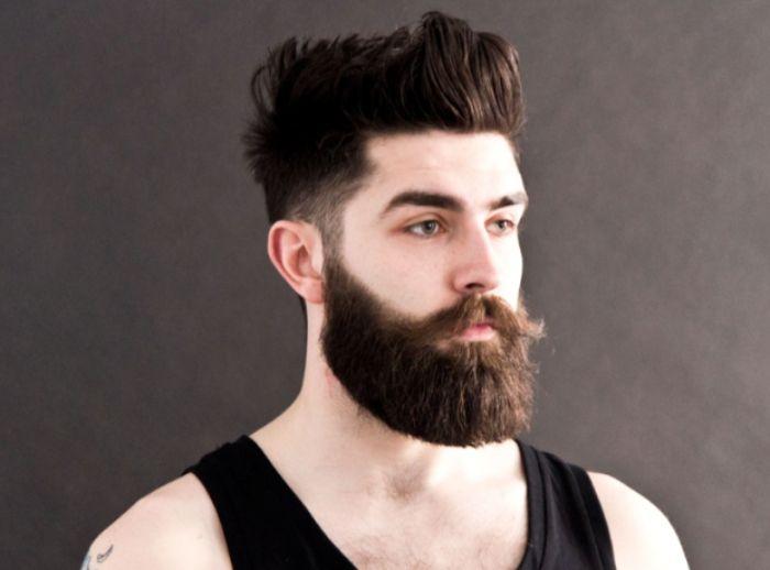 Barba lenhador. Modelos de barba.