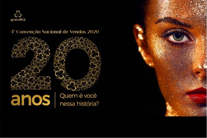 4° Convenção Nacional de Vendas 2020 - Grandha 20 Anos.
