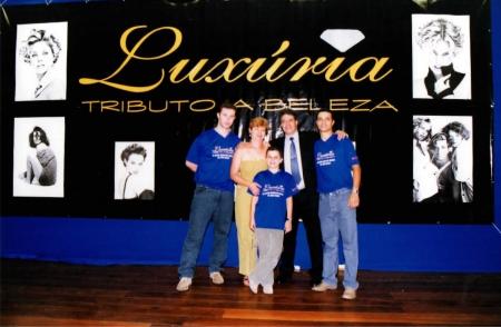 Família Martins nos primeiros anos da Grandha e do Grupo Mart'bel.