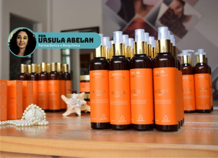 Acqua Soft Mix Oil Coconut Argan para uso na pele. Grandha.