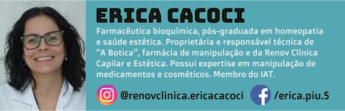 Erica Cacoci é autora do Blog Grandha.