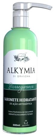 Sabonete hidratante de ação antisséptica Alkymia di Grandha.