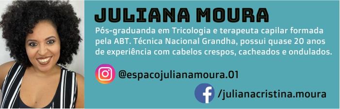 Juliana Moura, autora do blog Grandha.